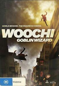 Woochi Goblin Wizard DVD RARE - Martial Arts Korean Movie