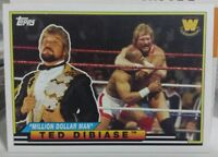 2018 TOPPS HERITAGE WWE BIG LEGENDS INSERT CARD OF TED DIBIASE NO. BL-35