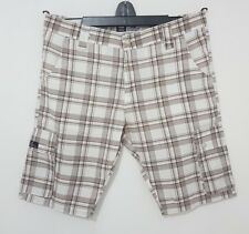 G Star Raw Men's Shorts Check Six Pocket 100% Cotton Cargo Light Weight