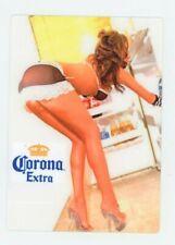 Corona Extra Sexy Metal Beer Sign - Cerveza Fridge