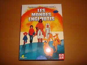 LES MONDES ENGLOUTIS COFFRET INTEGRALE 8 DVDS 25e ANNIVERSAIRE EDITION KAZE
