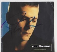 ROB THOMAS signed autographed solo cd SOMETHING TO BE (MATCHBOX 20)