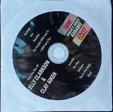 KELLY CLARKSON & CLAY AIKEN DVD KARAOKE GREATEST HITS SINGER'S DREAM MULTIPLEX