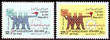 Syrien Syria 1969 ** Mi.1065/66 ILO Internationale Arbeitsorganisation