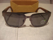 SHWOOD MENS PRESCOTT GUNMETAL WALNUT POLARIZED SUNGLASSES WTPGWFP - NEW W CASE