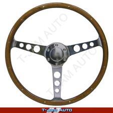Ford Falcon XW XY SAAS Classic Steering Wheel 375mm Slight Dish Wood Grain New