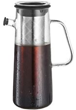 Cold Brew Coffee Maker - 1L Pitcher w/ Stainless Steel Filter & Airtight Seal