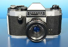 Praktica Kamera camera PL noval Meyer Optik Görlitz Domiplan 2.8/50mm - (92003)
