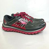 Brooks Glycerin 14 Women's Size US 9 (B) Athletic Running Walking Shoes Gray/Red
