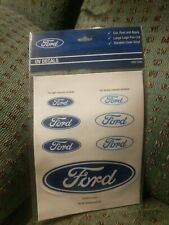 Ford iTAG UV Decals Sticker Sheet Official Merchandise 7 Stickers - Mustang FPV
