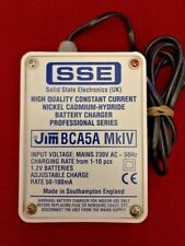 JIM BCA5A Mk4 Constant Current Charger for CB Amateur Scanners 1-10 AA Batteries
