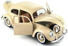 1/18 Burago / Bburago Collezione 1955 Volkswagen Kafer Beetle Beige (12029)