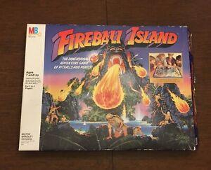 Milton Bradley 4708 Fireball Island Board Adventure Game