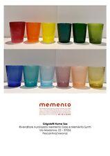 Memento - 12 Glass Bicchieri Bollicine in 12 Colori Assortiti - Rivenditore