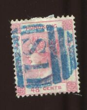 Hong Kong China 1865 Queen Victoria Mi.15   48c, used