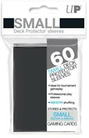 Ultra PRO Small Deck Protector Sleeves Card Size BLACK 60ct 62 x 89mm