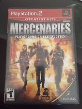 Mercenaries: Playground of Destruction (Greatest Hits) PlayStation 2/ PS2