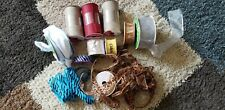 Celebrate It Offray Ribbon Lot Of 11 Wired Ribbon