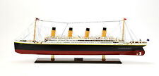 """RMS Titanic White Star Line Cruise Ship Model 40"""" Museum Quality"""