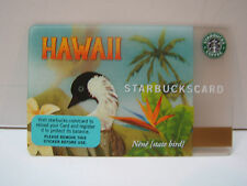 STARBUCKS GIFT CARD: 2008 HAWAII NENE  LIMITED EDITION