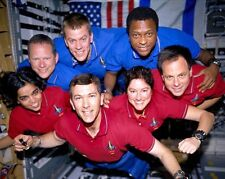 STS-107 SPACE SHUTTLE COLUMBIA LOST CREW 11x14 SILVER HALIDE PHOTO PRINT