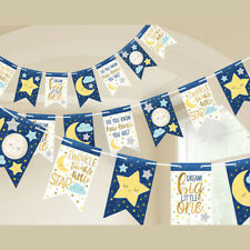 Baby Shower Twinkle Twinkle Little Star Banner ~ Party Supplies Decorations Blue