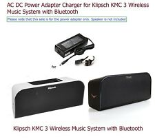 Charger for Klipsch KMC 3 Wireless Bluetooth Speaker KMC3