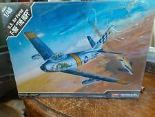 "New/sealed 1/48 Academy F-86F Sabre ""The Huff"" Special Edition kit #12234"