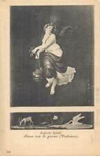 Italian art Postcard Raffaello Sanzio Terza ora di giorno engraving