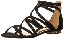 New Ted Baker Women's Raria Black Suede Casual Gladiator Sandals Shoes Size US 8
