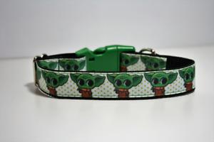 Yoda Star Wars Dog Collar and Lead