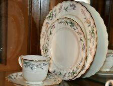 Noritake Brookhollow Dinnerware 8-5 piece place settings and Many Serving Pieces
