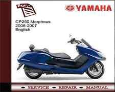 Yamaha CP250V CP250 V Morphous 2006 - 2007 Workshop Service Repair Manual