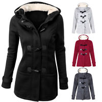 Women Outwear Winter Warm Hooded Coat Windproof Long Sleeve Thicken Parka