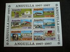 Stamps - Anguilla - Scott# 722a - Souvenir Sheet