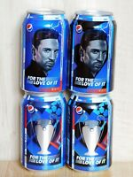 Full Set Empty Cans PEPSI from Ukraine FOR THE LOVE OF IT. PEPSI X UCL 2019