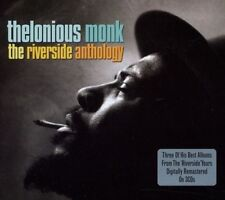 THELONIOUS MONK - THE RIVERSIDE ANTHOLOGY 3 CD NEW