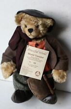 New ListingHermann Teddy Bear Mohair Limited Edition Peaceful World World Traveler #75/1000