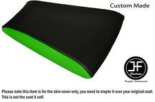 LIGHT GREEN BLACK AUTOMOTIVE VINYL CUSTOM FOR RIEJU RS3 125 REAR SEAT COVER ONLY