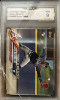 2018 Topps Update Ronald Acuna Jr. ROOKIE RC #US252 GMA MINT 9