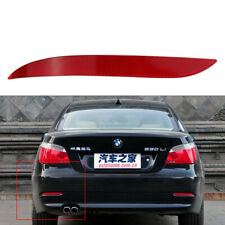Red Lens Left Rear Bumper Reflector Warn Light for BMW E60 E61 63147183913