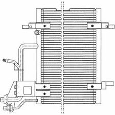 DELPHI KONDENSATOR KLIMAANLAGE VW PASSAT AUDI A4 TSP0225011