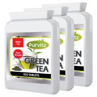 Tè Verde 1000mg 300 Compresse Disintossicante Dieta Perdita Peso Vegetariani