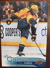 2016-17 UD Hockey Series 2 UD Canvas P.K. Subban #C167