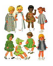 """Baby 1st Step Ruthie Baby Kicks 17"""" 20""""  by Mattel 2157 Doll Clothing PATTERN"""