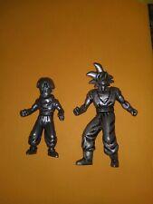 DBZ Dragon Ball Z Silver Action Figure Burger King Goku and Gohan