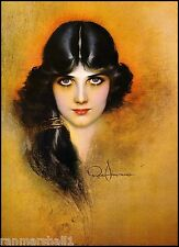 1940s Pin-Up Girl Dream Girl Theda Bara Picture Poster Print Vintage Art Pin Up