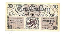 Netherlands ... P-74 ... 10 Gulden ... ND (1945) ... *VF*