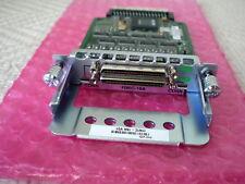 Cisco HWIC - 16a 16 port High speed wan Interface Card + 2 x cab-hd8 - async