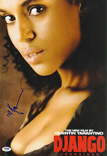 Kerry Washington SIGNED 12x18 Photo Broomhilda Django Unchained PSA/DNA